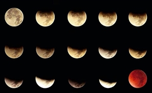 8 Awesome Egyptian Snaps of the Super Moon Lunar Eclipse