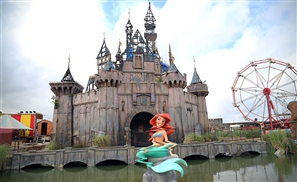 Banksy Turns His Dismaland Park into a Shelter for Refugees