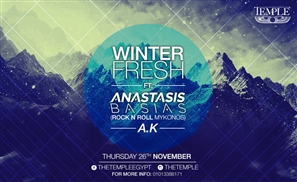 The Temple Presents Winter Fresh