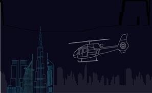 UberCHOPPER Takes Off From Dubai