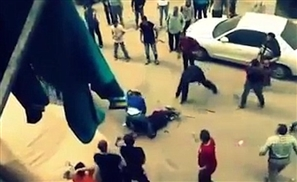Video: Man Mobbed By Bystanders After Publicly Attacking Wife