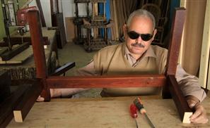 Haj Mohamed: The Blind Egyptian Carpenter Proving that Disabilities are Self-Imposed