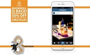 #HowIRoll: Get 50% Off at Mori Sushi This Saturday!