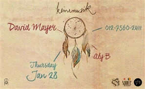 David Mayer Zigzags His Way to Cairo This Thursday Night