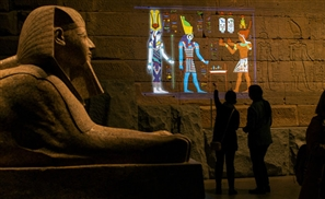 The Met in New York Shows Egypt's Temple of Dendur In Its Original Colors