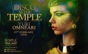 The Temple Ups Its Disco Game With Yuri Omneari
