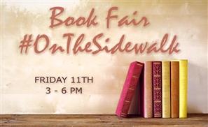 Book Fair #OnTheSidewalk This Weekend