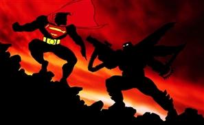 Grumpy Batman v. Gritty Superman: Dawn of Something For Sure