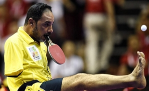 No Arms? No Problem! Egyptian Hero Hamato  Qualifies in Table Tennis For Paralympics