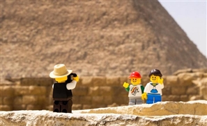 Egypt's Stop Motion Maestro Recreates Movie Scenes Out Of LEGO
