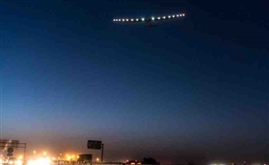 It's Not a UFO, It's the Zero-Emission Solar Impulse 2 Heading for Cairo