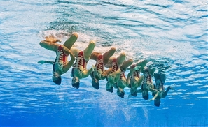 Egyptian Olympic Team Featured on Vogue's 9 Best Synchronised Swimming Costumes
