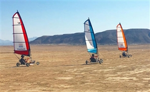 Land Sailing: An Actual Thing in Gouna this Eid