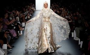 Muslim Designer Makes History With Stunning Hijab Collection at New York Fashion Week