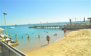 Dream Beach Hurghada Reopens One Day After Massive Fire Destroys Entrance