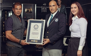 Amr Diab is Officially a Guinness World Record Winner