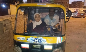 Video: 9-Year-Old Girl Drives Tuk Tuk for A Living in Kafr El Sheikh