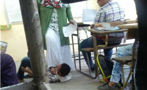 Egyptian Teacher Physically Stomps on Student During Class