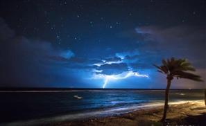 7 Incredible Photos Of Dahab's Thunderstorm Last Night