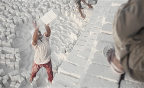 Egyptian Photographer Depicts Life as a Limestone Worker in 33 Stunning Photos