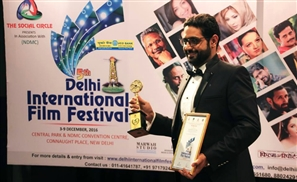 "Egyptian Movie ""AH!"" Receives Best Short Film Award at the Delhi International Film Festival"