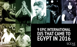 9 Epic International DJs That Performed in Egypt in 2016