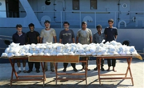 Egyptian Navy Finds 171 Kilograms of Heroin Aboard Iranian Ship