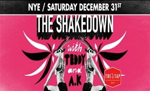 Ring in the New Year with Hip Hop Bling at the Tap East's Shakedown