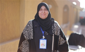 The 55-Year-Old Syrian Refugee Defeating Stereotypes by Volunteering at the Same NGO that Helps Her