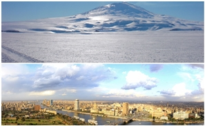 Cairo and Antarctica Literally had the Same Temperature Yesterday