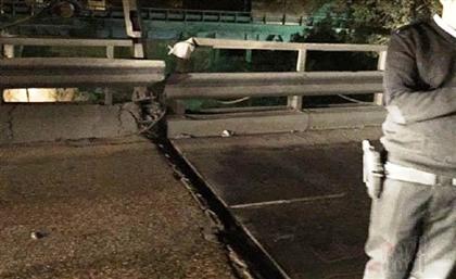 Cairo's Traffic Authorities Shut Down Tora Bridge Due to Massive Crack
