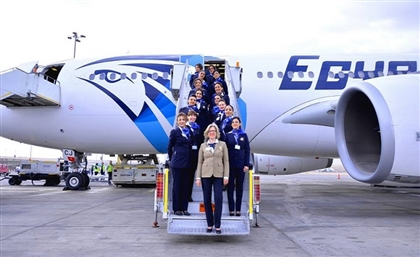 All-Female Crews Lead 2 Egyptian Flights for the First Time Ever