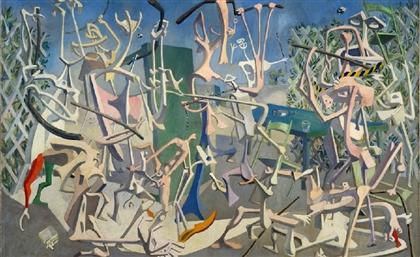 100 Egyptian Surrealist Paintings Featured in the Reina Sofia Museum and Here Are Our Favourite 11