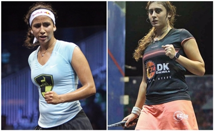 Egypt's Nour El Sherbini and Nouran Gohar Face Off in Squash World Championship's Semifinals