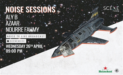 NoiseSessions Returns with Live Broadcast This Wednesday Ft. Aly B, Azaar and Nourre Fahmy