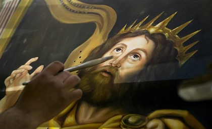 This Egyptian Artist is Painting Some of the Most Spectacular Church Murals Around