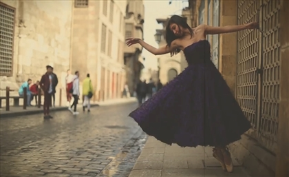 Video: Ballerinas of Cairo Twirl around the City in Gorgeous Bambah Boutique Gowns