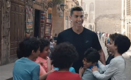 Video: Cristiano Ronaldo's New Egyptian Steel Campaign Shatters an Illusion for Millions