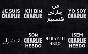 #JeSuisCharlie Says the World