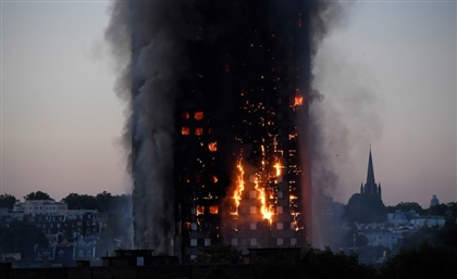 Viral Video: Egyptian Woman Live Streams the London Grenfell Tower Fire Before Disappearing