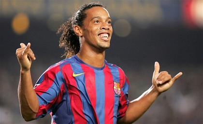 Ronaldinho Touches Down in Cairo This Tuesday