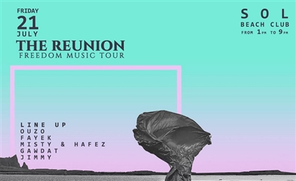 Amaze Projects is Back with Back2Basics' The Reunion at  Sol Beach Club in Sahel