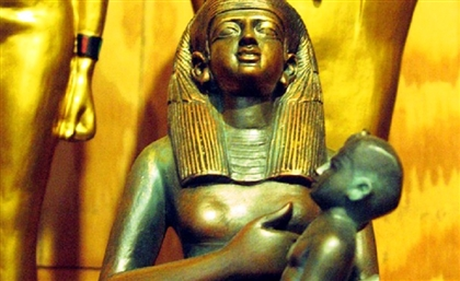 2 Nubia Museum Employees Attempt to Steal a Statue of Goddess Isis
