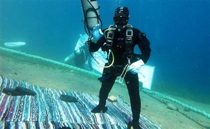This Egyptian Diver Has Been Underwater Since Monday to Break World Record for Longest Dive