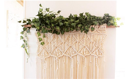 This Egyptian Brand's Macramé Hanging Planters Are Your Next Home Purchase