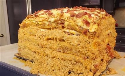 Egypt Set to Make the World's Biggest Ever Macarona Béchamel