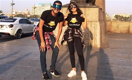 This Couple Is Photobombing Pictures All Over Cairo and We Want Them Brought to Justice