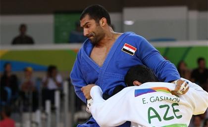 Egyptian Judo Player Ramadan Darwish Wins Gold in Uzbekistan