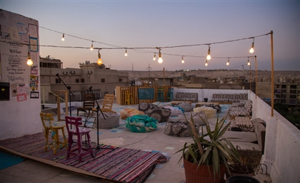 This Rooftop Arts Hub Is Changing the Coffee-Date Culture in Cairo