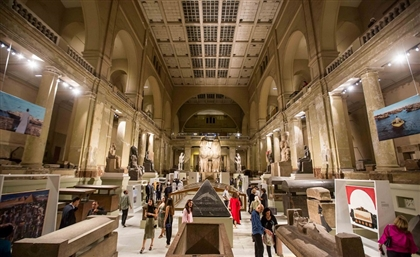 27 Glorious Moments from Saturday Night's Art D'Égypte Exhibition at the Egyptian Museum